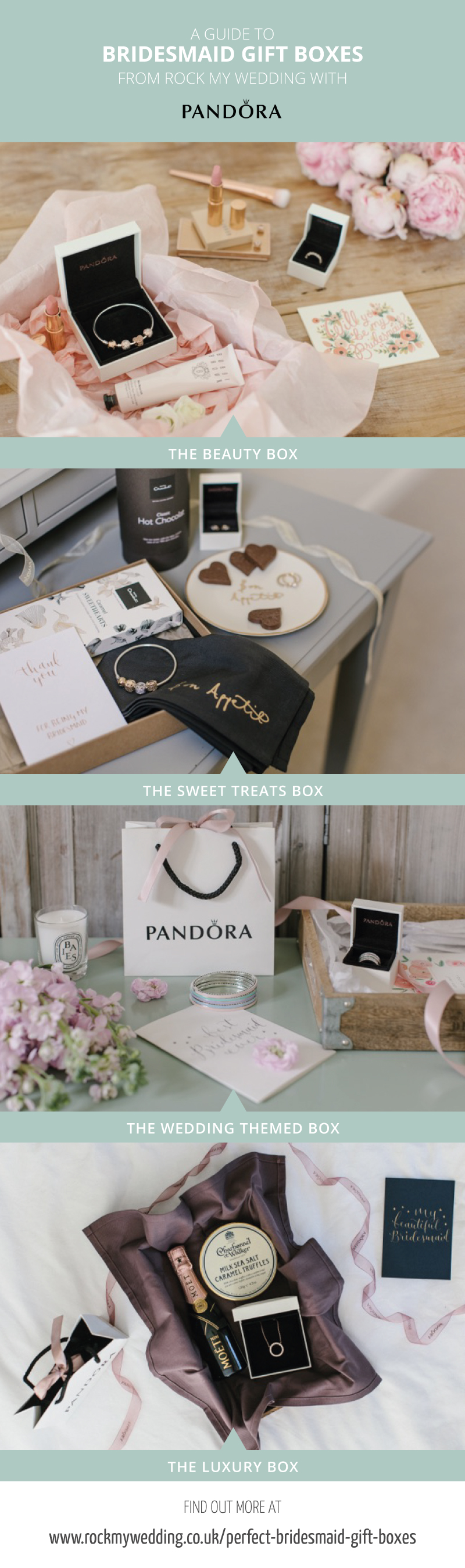 Perfect Bridesmaid Gift Boxes with PANDORA