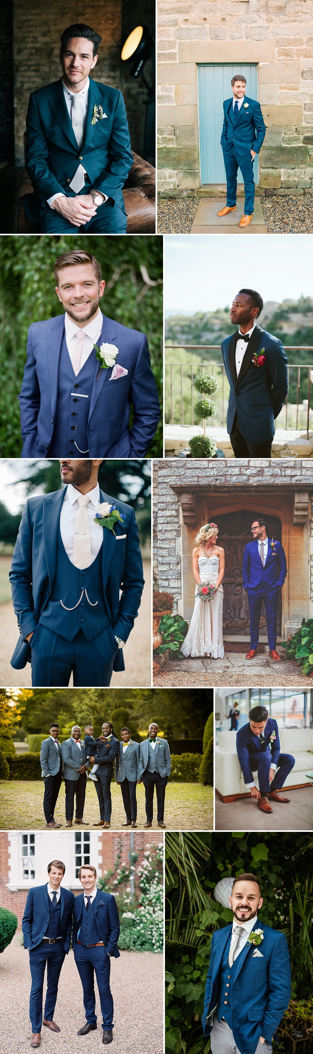 Groom Wearing Royal Blue For Wedding | Groom Fashion Inspiration