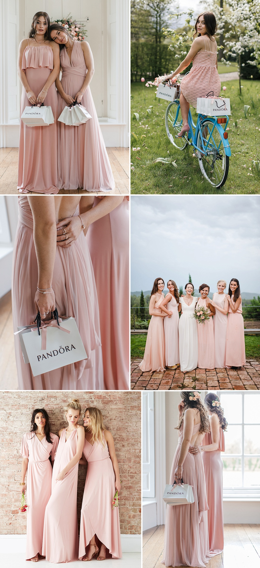 Blush Pink Bridesmaids Dresses