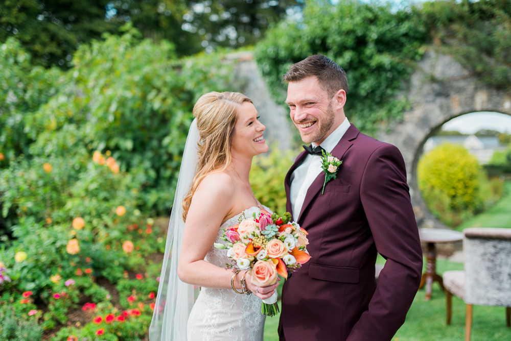 Elopement Wedding At Mount Juliet Estate In Kilkenny Ireland By