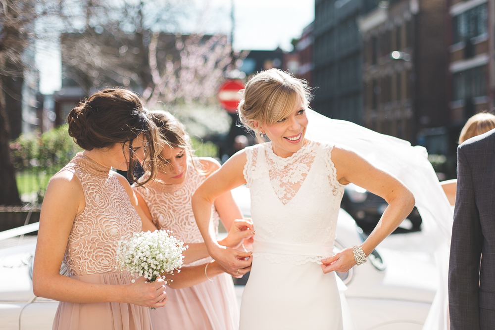 Charlie Brear Bride For A 1920s Inspired Wedding At Town Hall Hotel