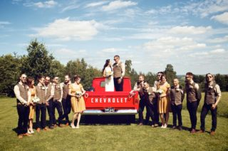Emma and Andy by Vintage Weddings