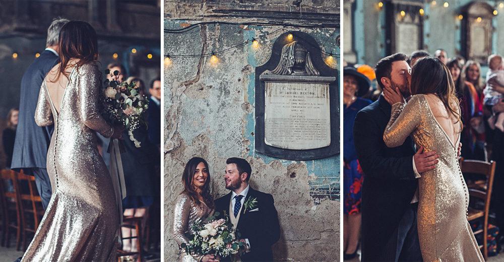 Emma & Patrick Asylum Wedding by Lovestruck Photography