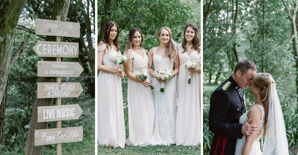 Georgie & Pete Blush Marquee Wedding by Natalie J Weddings