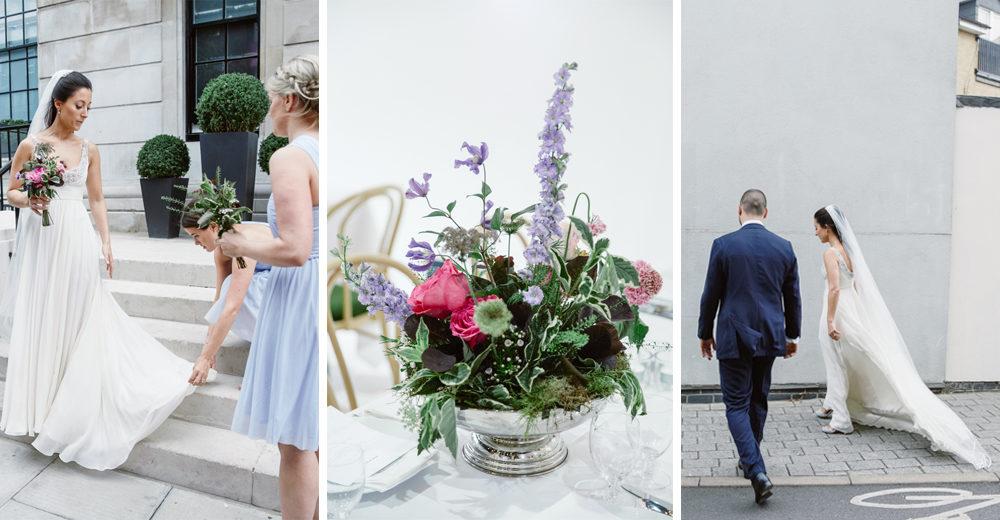 Lia & Aaron London Wedding by Natalie J Weddings