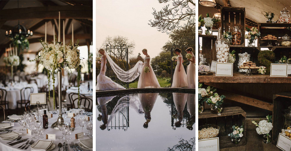 Sophie & Luke at Cripps Barn by Andy Gaines Photography