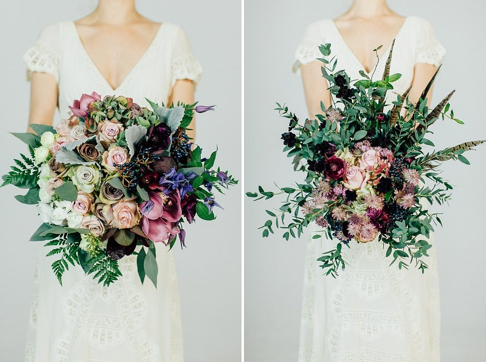 Fall Wedding Bouquets.Autumn Fall Wedding Bouquets For Stylish Modern Brides