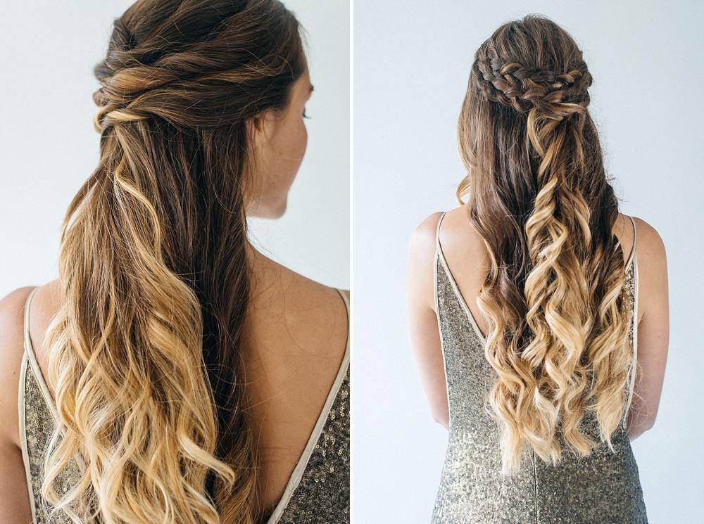 Half Up Half Down Wedding Hairstyles: Inspiration For Half Up Half Down Wedding Hair With
