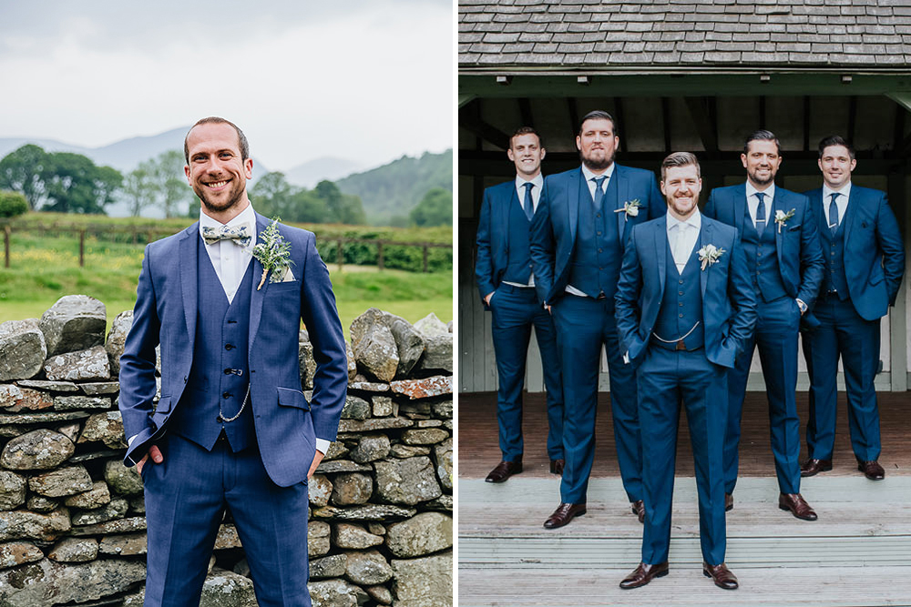 Moss Bros Wedding Suits | Grooms Wedding Attire | Groomsmen Wedding Fashion | Navy Suits | Slim Fit Suits | Grey Suits | Traditional Suits