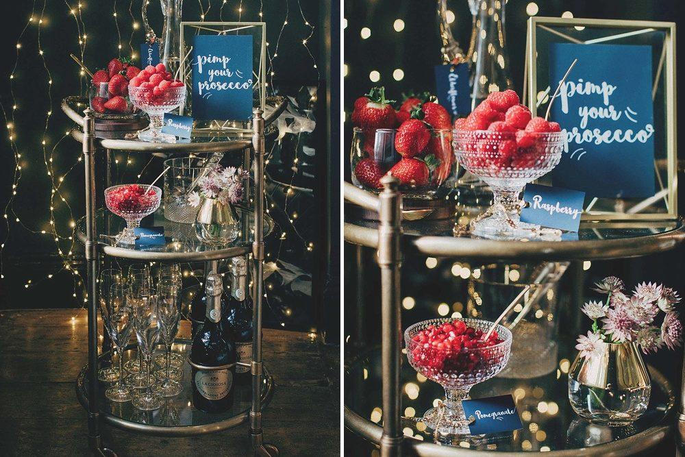 Pimp Your Prosecco Station For Wedding | How To Style A DIY Drinks Station At Wedding | Wedding Cocktail Hour | Wedding Drinks Reception