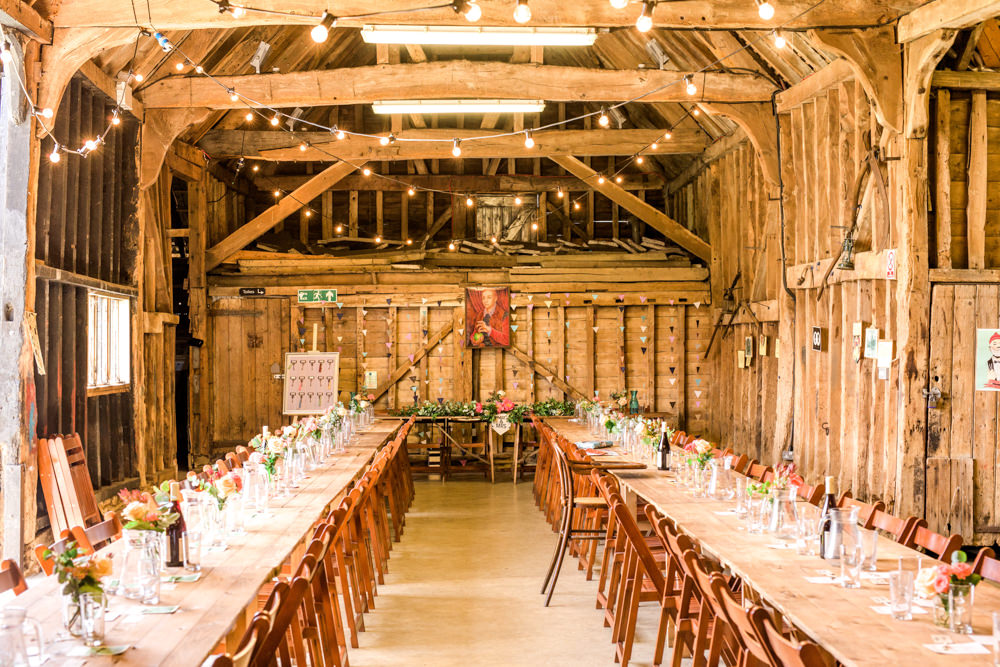 Rustic Thames Chase Barn Wedding With Pastel Pink