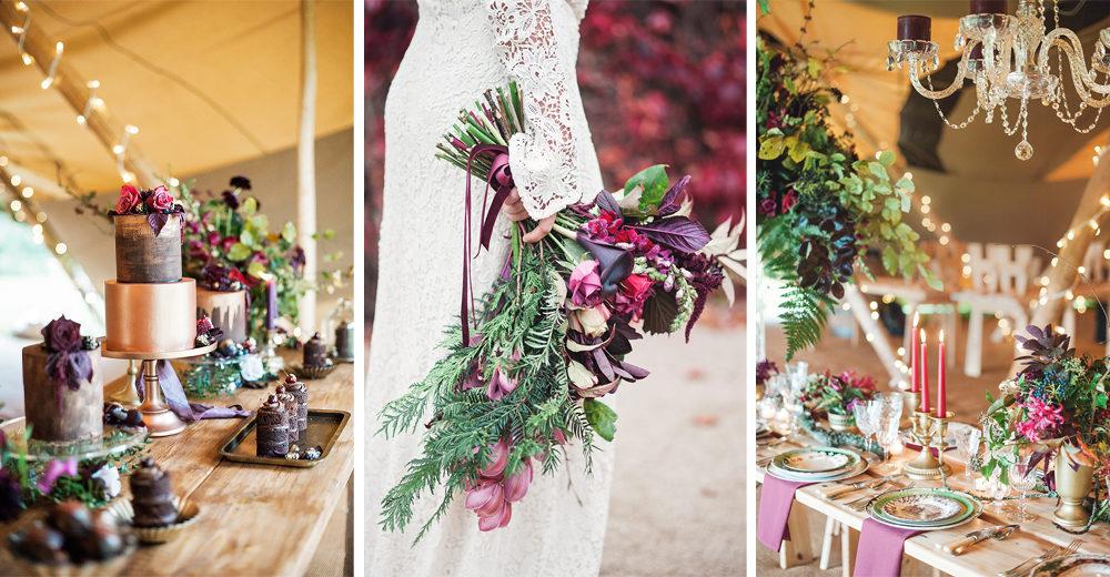 Woodland Luxe Wedding Inspiration