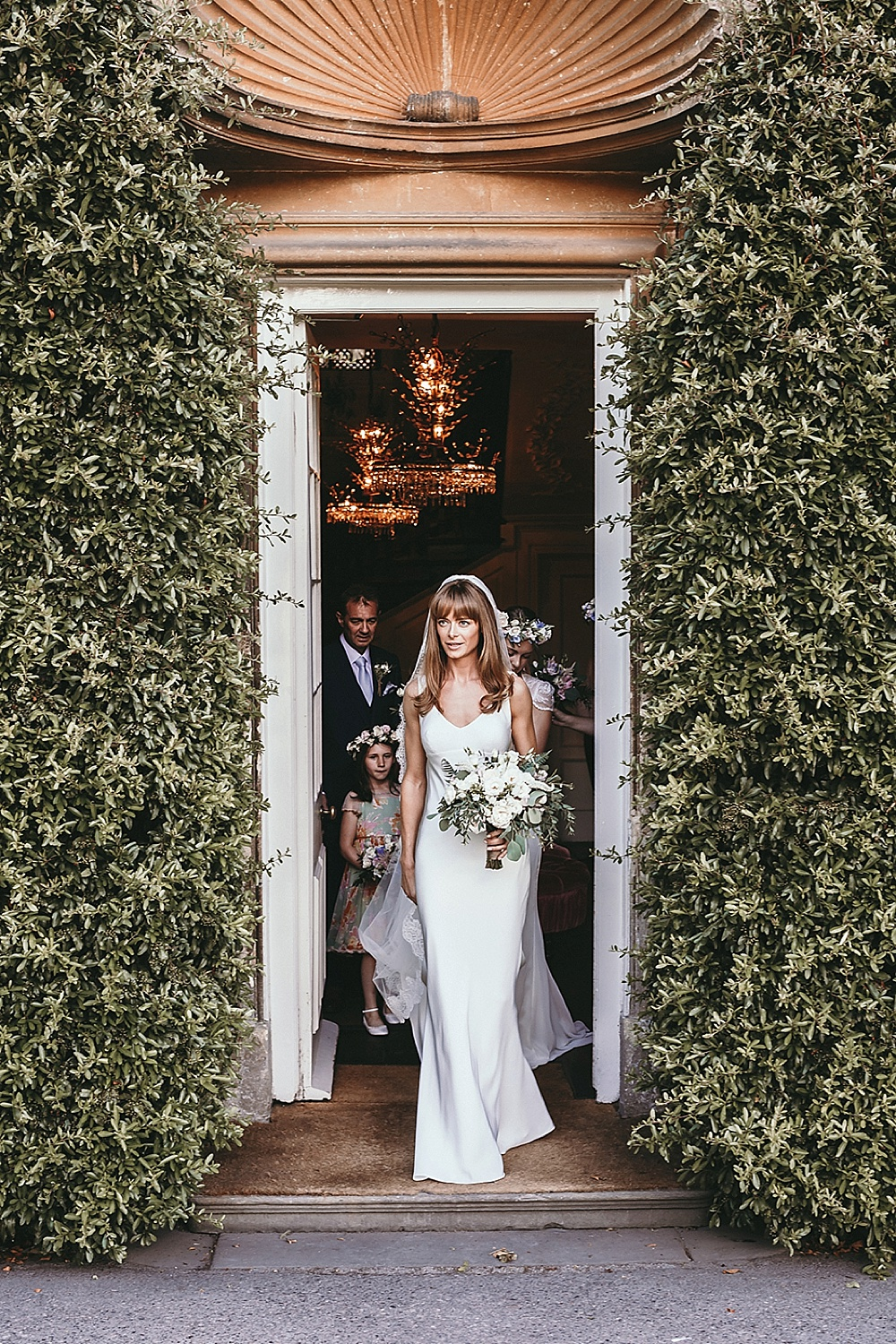 Stunning Bride For A Stylish Babington House Wedding