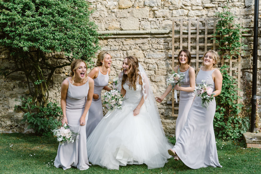 Elegant Summer Wedding At Notley Abbey With Pronovias