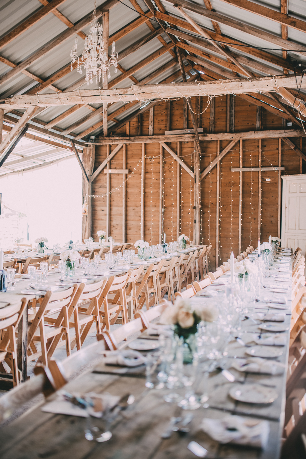 Romantic Barn Wedding With A Gin Bar
