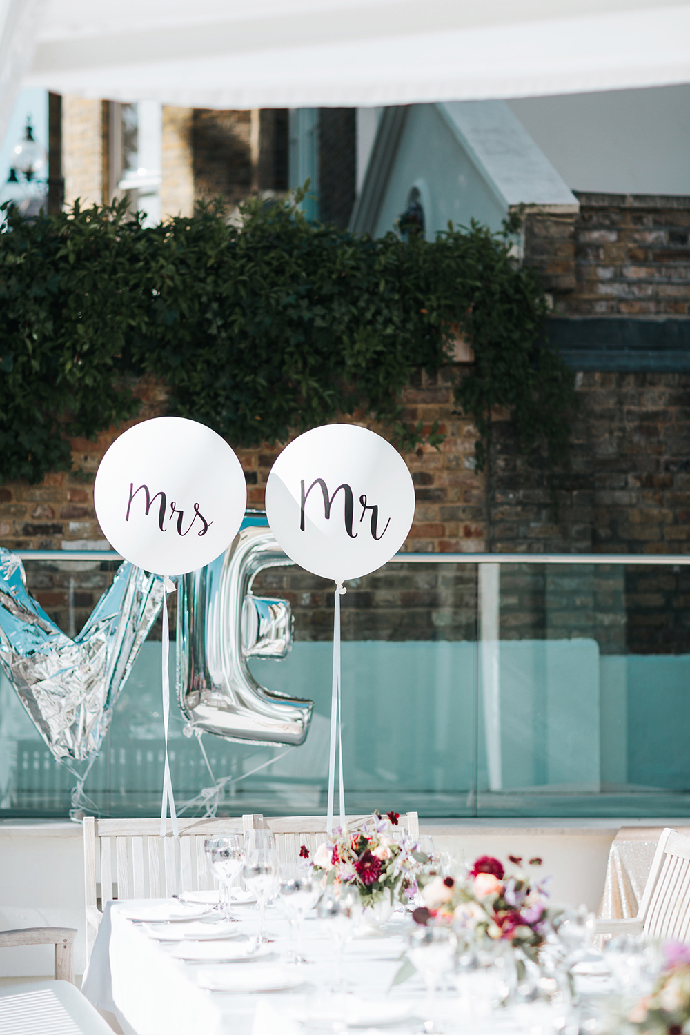 Glamorous Garden Party Wedding