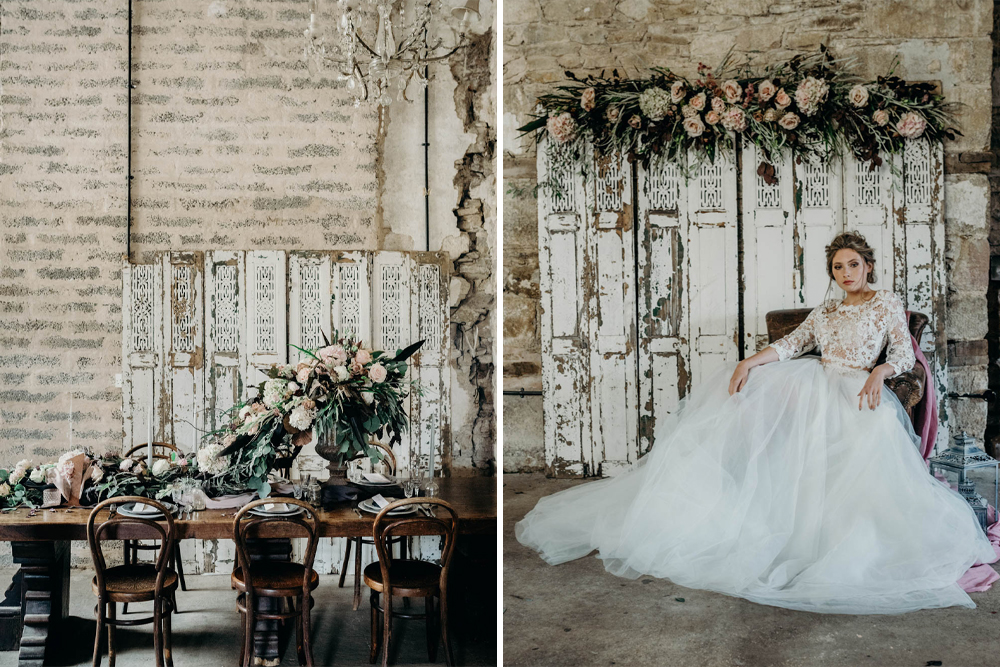 Industrial Luxe by Clare Kinchin Photography