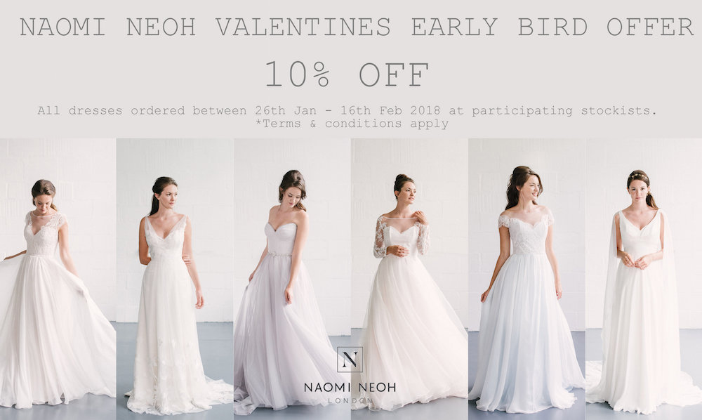Naomi Neoh Early Bird Valentines Offer