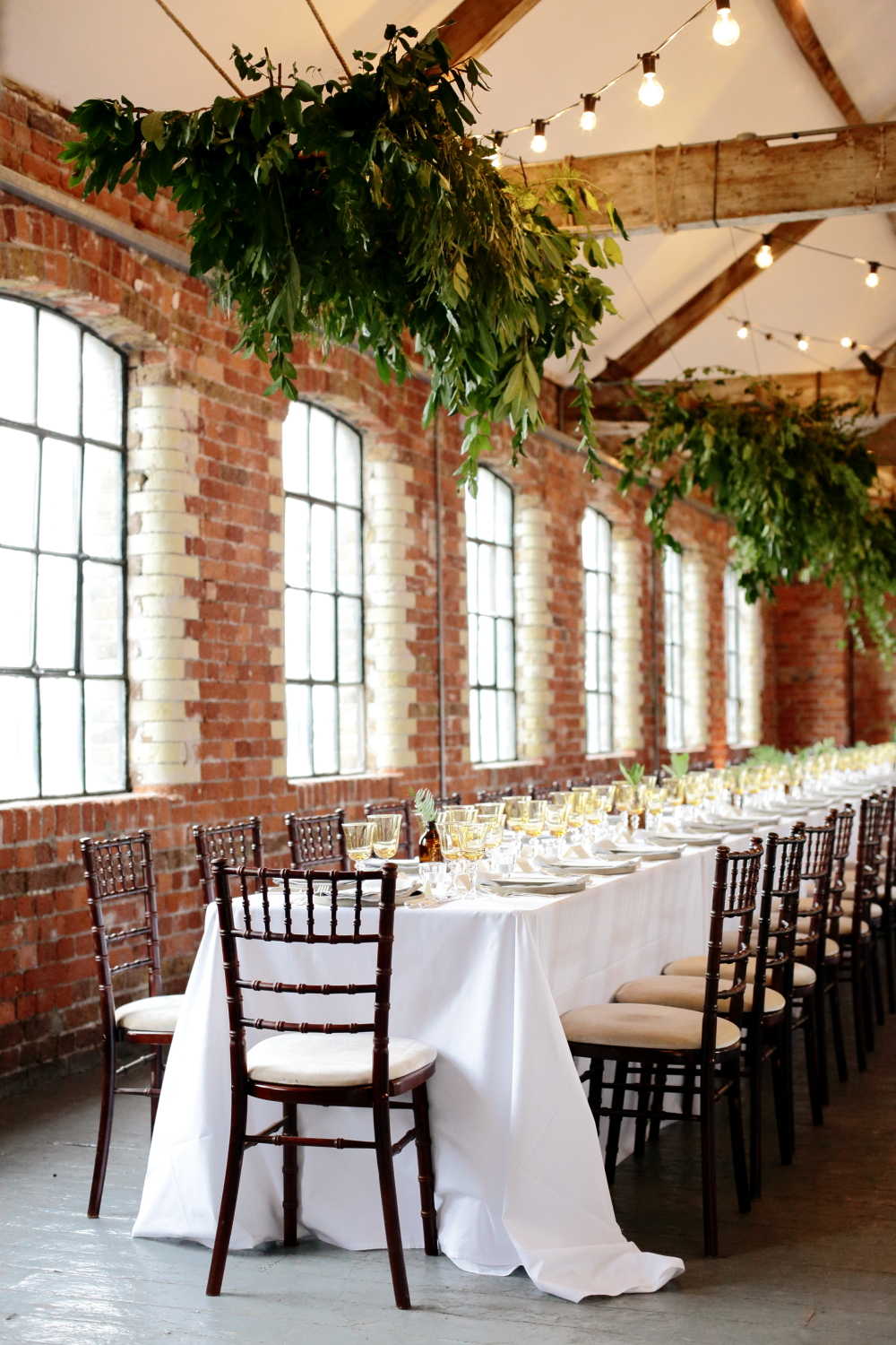 Elegant Loft Wedding In The City With Contemporary Styling