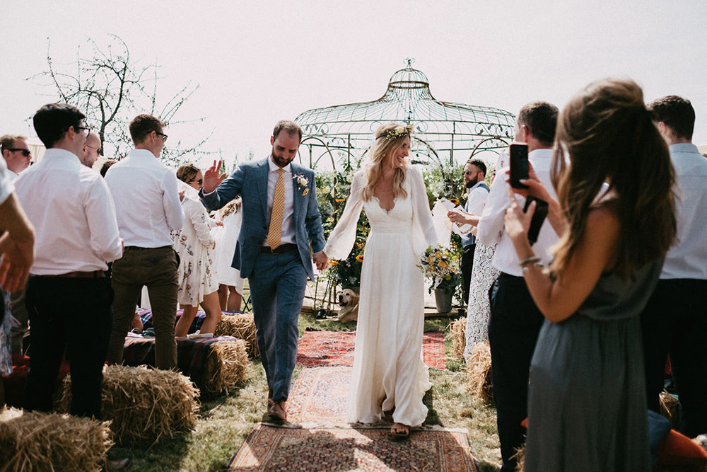 Leanne Marshall Bride Country Wedding France Marcos Sanchez
