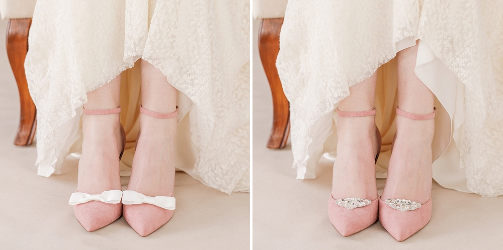 Bridal Shoe Clips For Customising Wedding Shoes