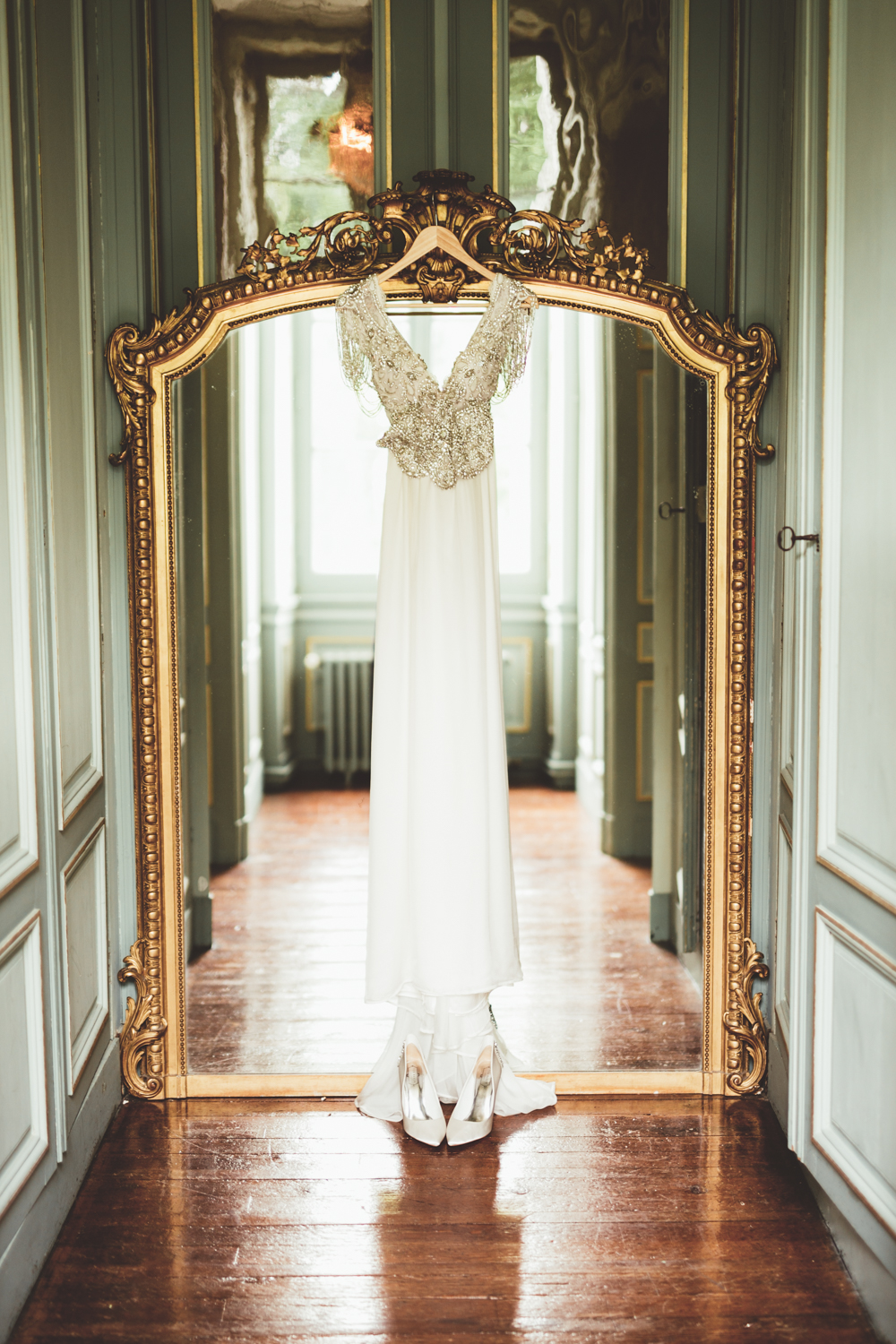 Embellished Anna Campbell Wedding Dress