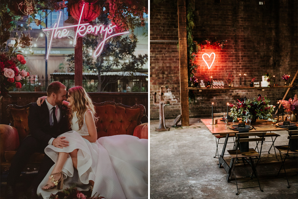 Where To Find Neon Lights For Your Wedding Uk Customised