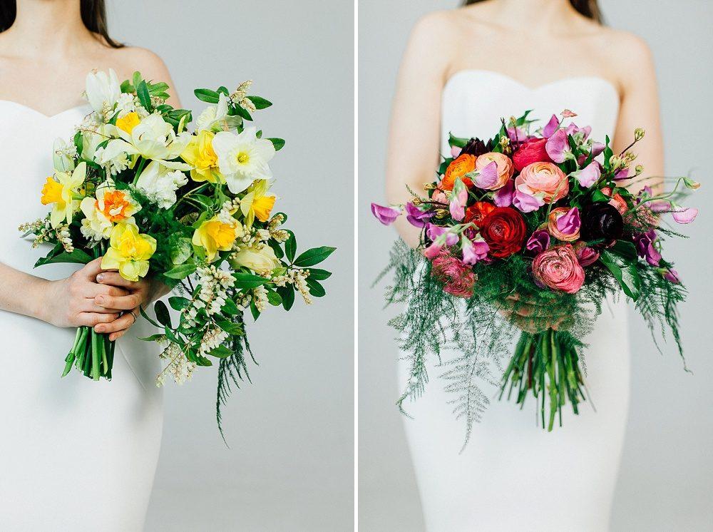 Spring wedding bouquets using seasonal british blooms junglespirit Choice Image