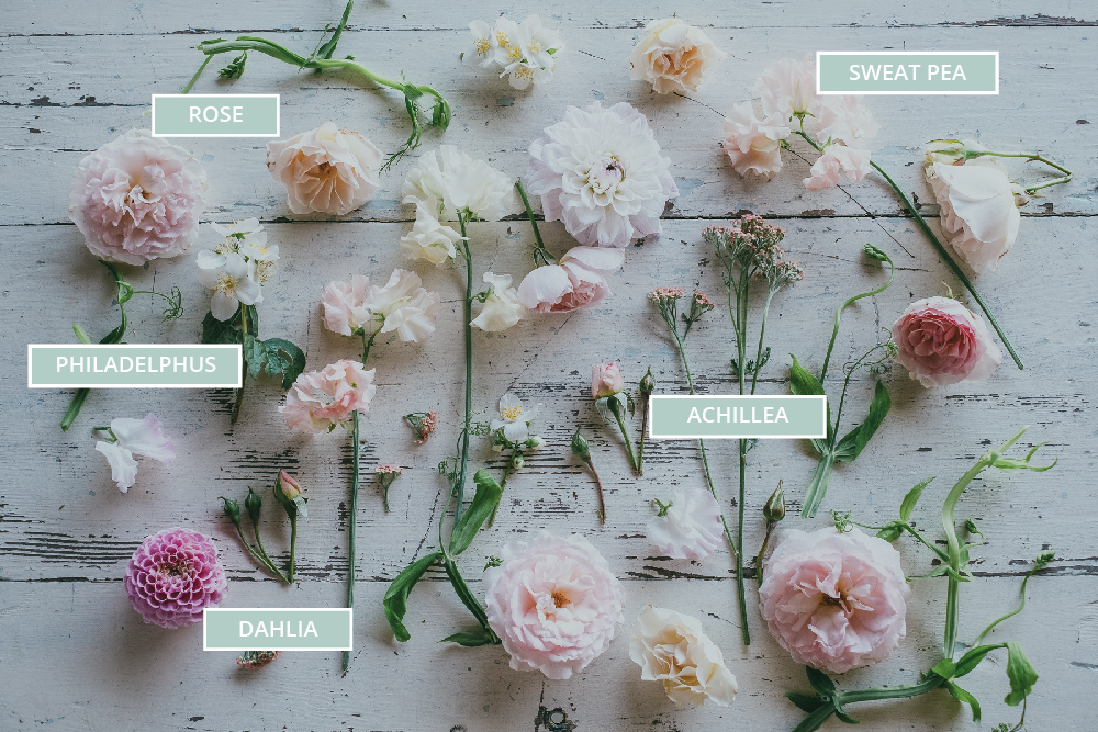 DIY Floral Chair Back Arrangements For Your Wedding // 3acre Blooms