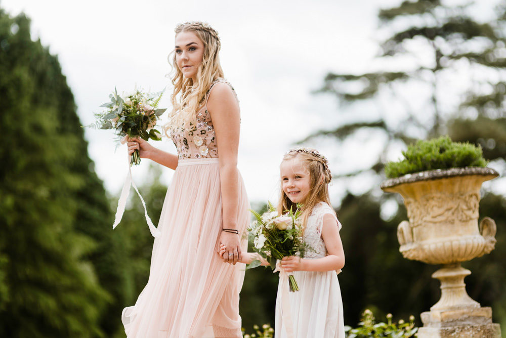 Outdoor Ceremony & Rustic Barn Reception At Pennard House
