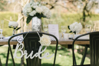 Bride sign from Sainsbury's
