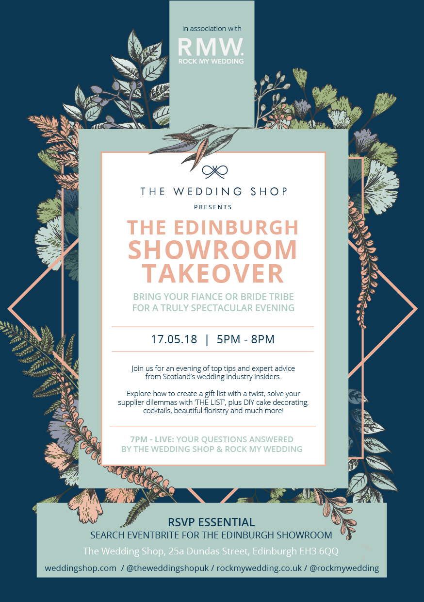 The Wedding Shop's Edinburgh Showroom Takeover