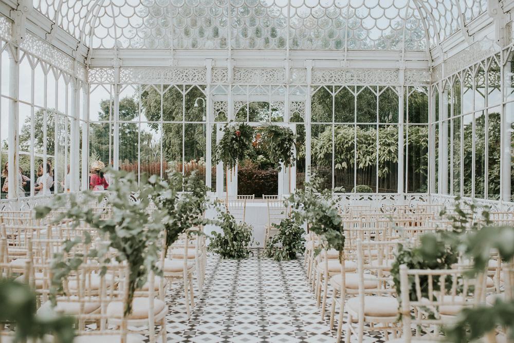 Botanical Orangery Wedding At Horniman Museum Amp Gardens