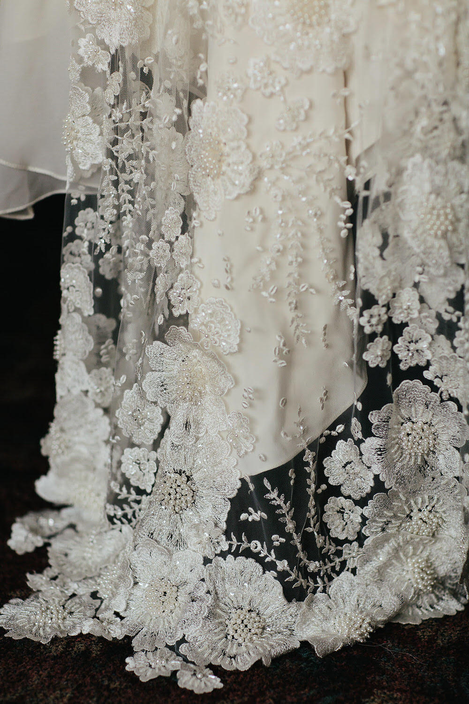 Hand Sewn Detail // Bespoke Bridalwear And Wedding Accessories By Julita LDN Bride