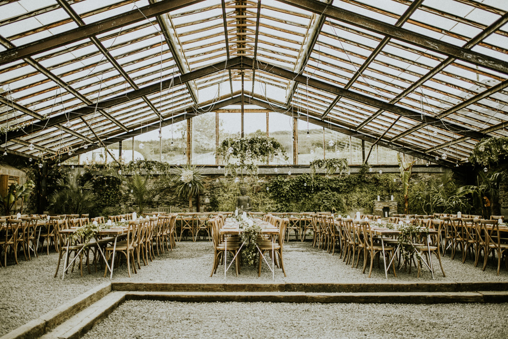 Glasshouse Wedding At Anran Devon
