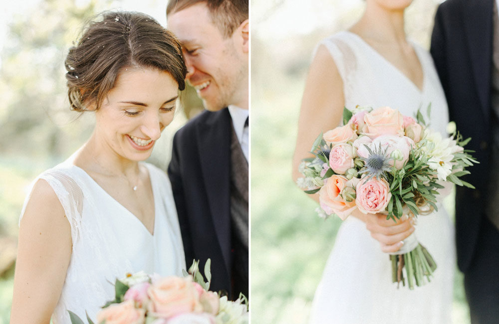 Pretty Pastel Homemade Country Wedding // Handmade Details // Charlie Brear Bride // Pimhill Barn, Shrewsbury // Belle and Beau Fine Art Wedding Photography