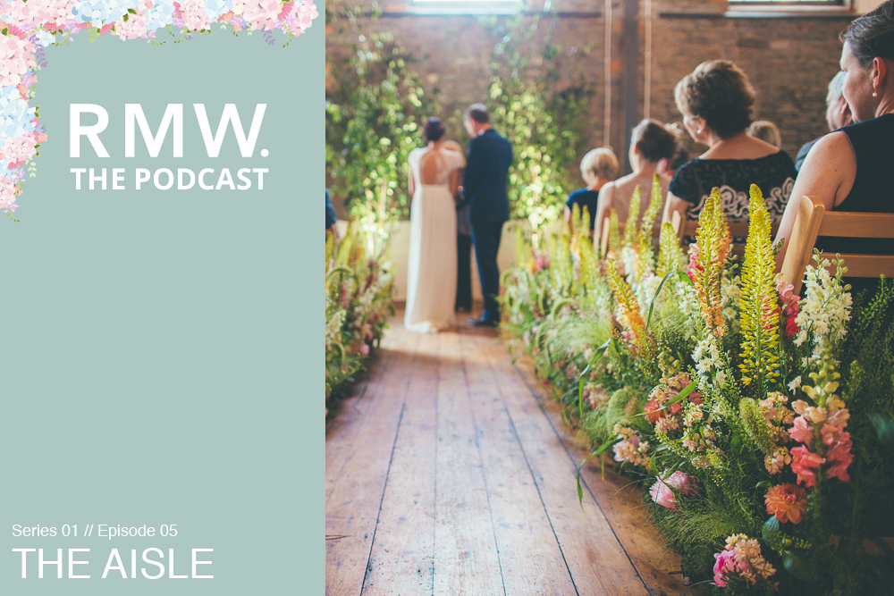 How To style your wedding aisle