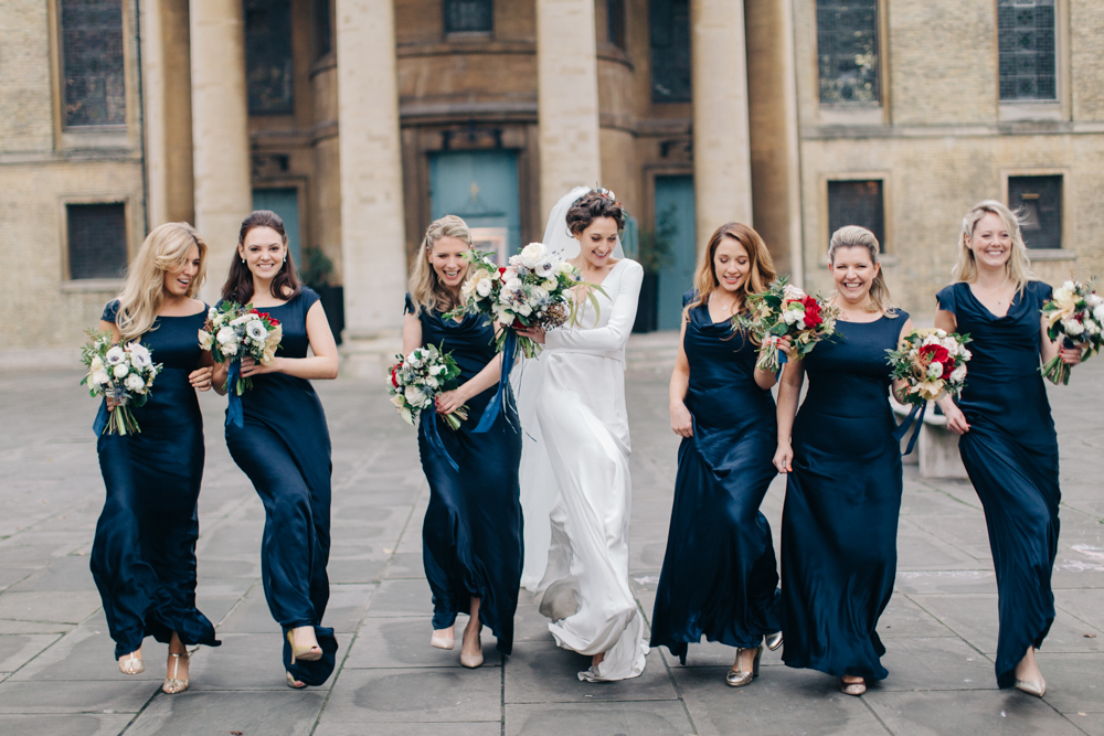 Best Bridesmaid Dresses for a Black Tie Wedding