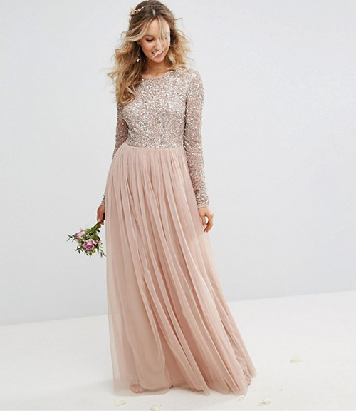 5495bca6b0 The Six Best Bridesmaid Dresses for a Black Tie Wedding