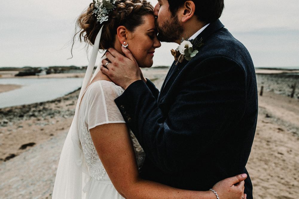 Snowdonia National Park Boho Wedding | Carla Blain Photography | Exclusive Hire of Plas Gwynfryn | Up Marquees | AlexVeil Bridal Gown