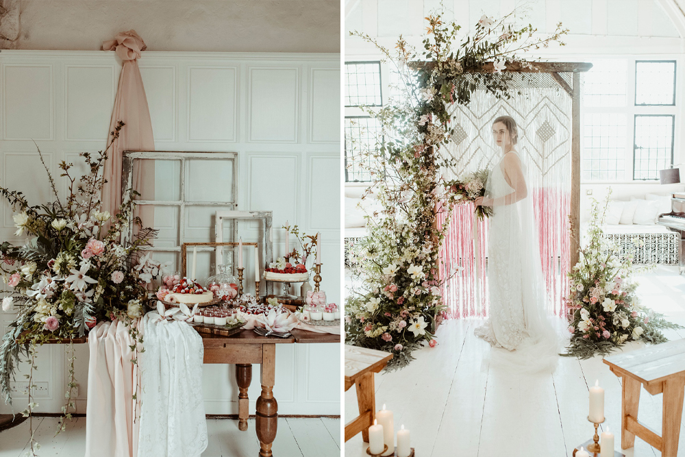 Classical Springtime Romance at Butley Priory in Suffolk by Brown Birds Weddings | Half Penny London Bridal Wear | Jess Soper Photography