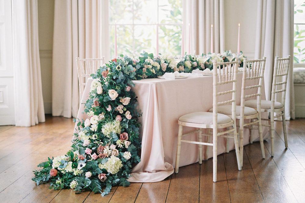 Blush Pink Pynes House Wedding Imogen Xiana