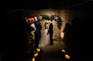 The Electricians Shed, Trinity Buoy Wharf Wedding Planned by Utterly Wow | Ted Baker Wedding Dress | Rustic Wedding Decor | Claudia Rose Photography
