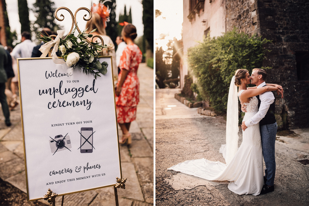 Stylish Tuscan Wedding at Vignamaggio with Vintage Ape Bar, Planned by The Wedding Boutique Italy | Pronovias | Samuel Docker Photography | Paul Van Films