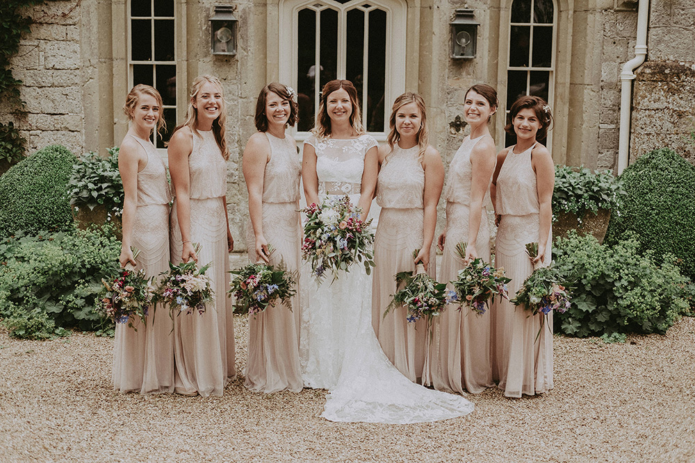 815859cdc966 The Five Best Blush Bridesmaid Dresses on the High Street