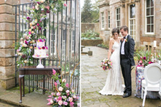 Spring Equinox at Thorpe Manor Wedding Venue by Revival Rooms | Daughters of Simone Bridal Gown from Coco & Kate Boutique | Anneli Marinovich Photography