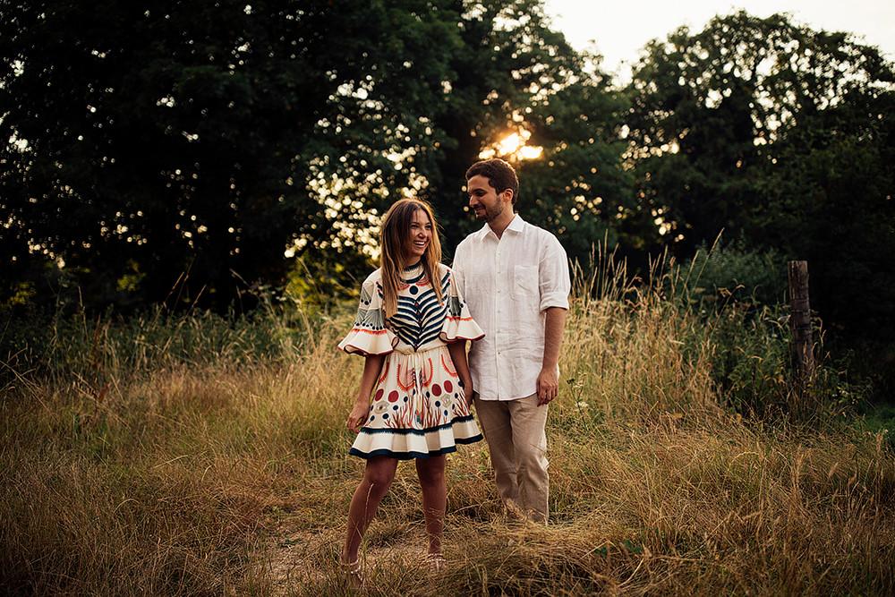 Surprise Marriage Proposal Engagement Shoot at Sunset | Golden Hour Portraits | Pre Wedding Shoot | Couples Portraits | Harry Michael Photography