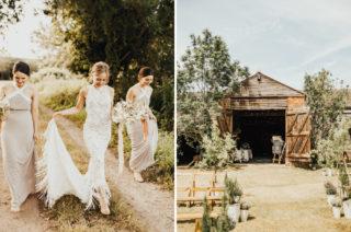 Grace Loves Lace Edie Fringe Wedding Dress