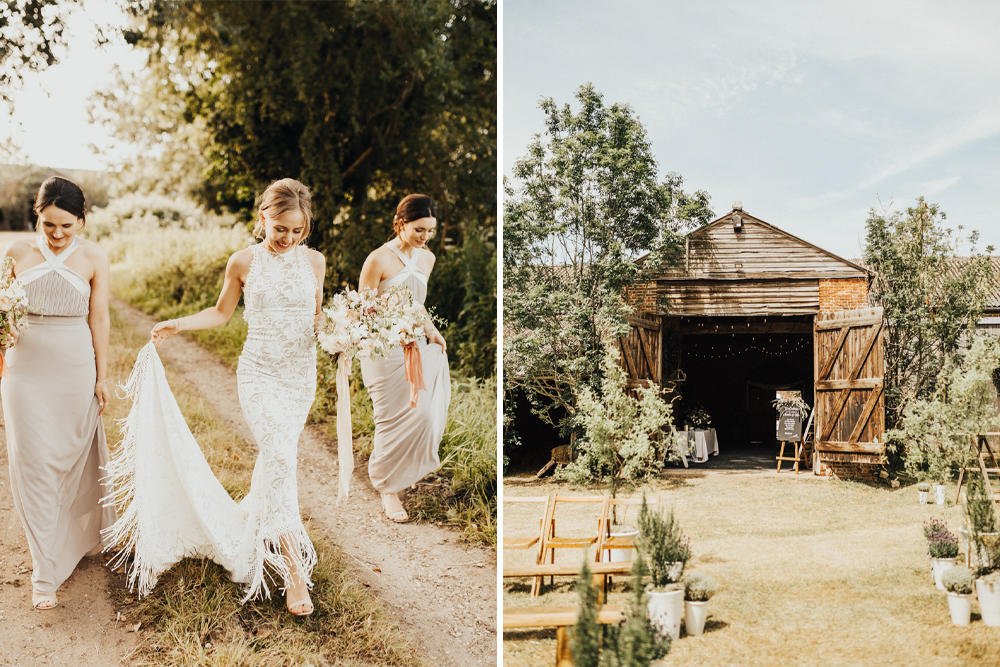 Grace Loves Lace Edie Fringe Wedding Dress | Darina Stoda Photography