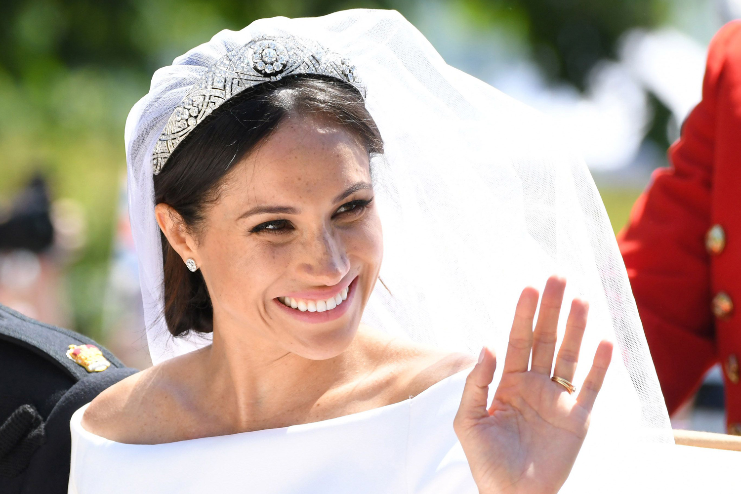 Meghan Markle Bridal Hair and Makeup